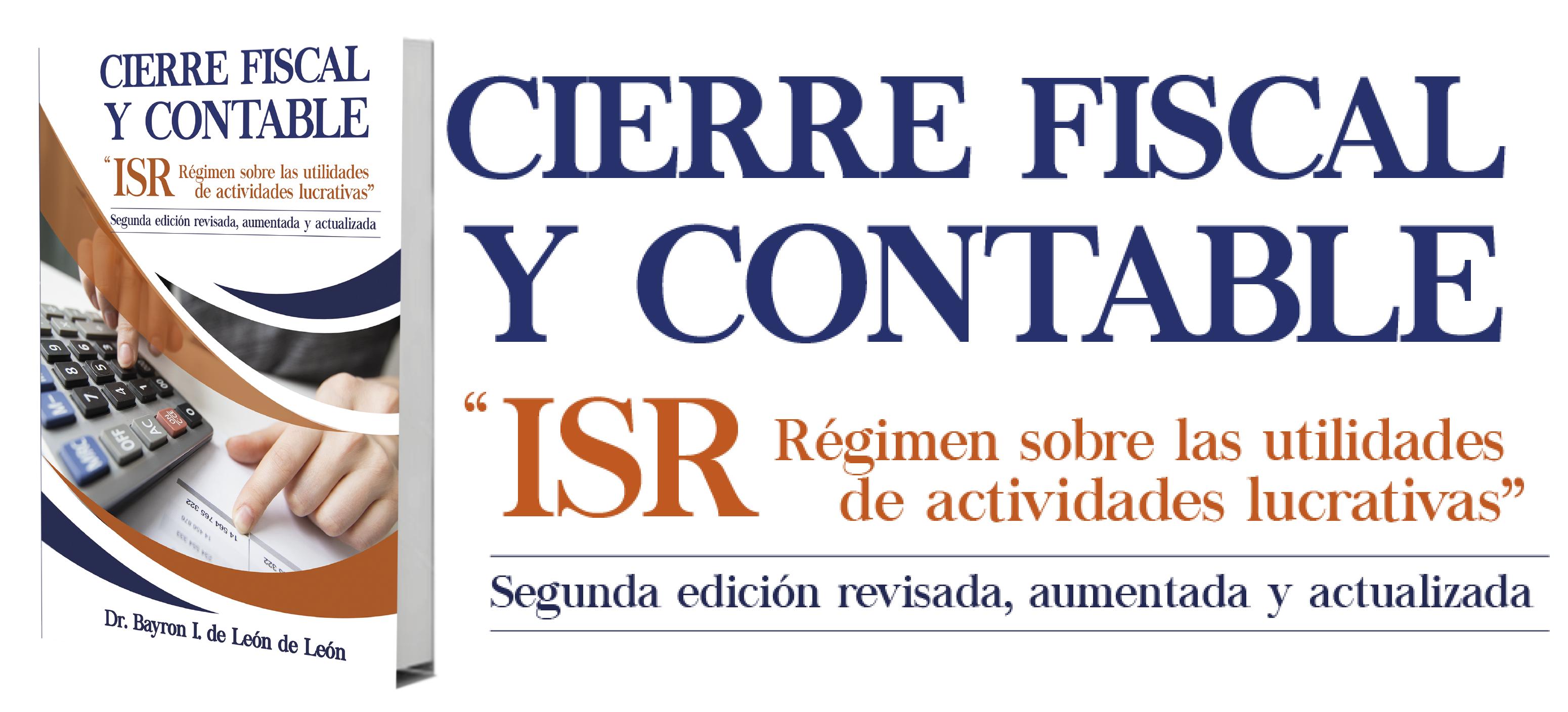 CIERRE FISCAL Y CONTABLE PUBLICAR