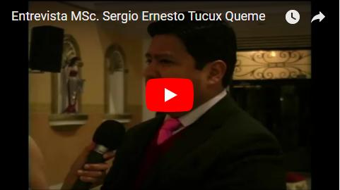 Entrevista MSc Sergio Tucux